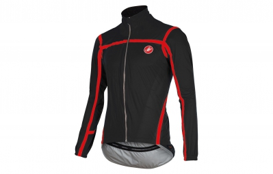 chaqueta castelli pave jacket negro rojo s