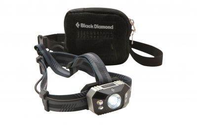 black diamond lampe frontale icon polar 300 lumens noir