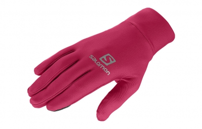 salomon gants active rose l