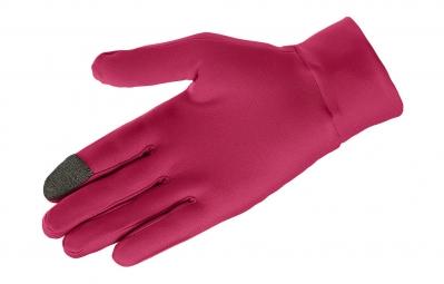 salomon gants active rose m
