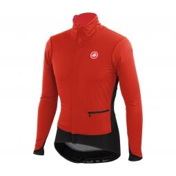 castelli veste alpha jacket rouge noir m