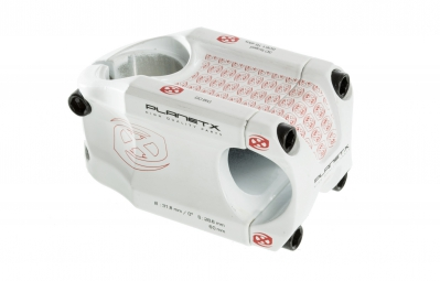 PLANET X Stem GO BIG 31.8x60mm 0° White