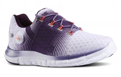 REEBOK Chaussures ZPUMP FUSION Femme Blanc Violet
