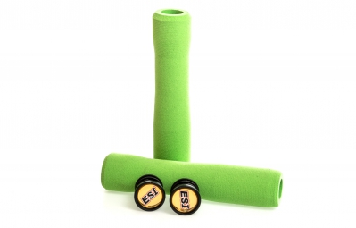 ESI Paire de Grips FIT CR Silicone Vert