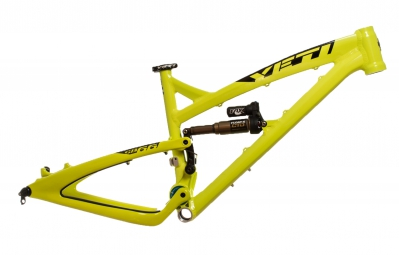 YETI 2014 Frame 26'' SB 66 Aluminium + Rear Shox FLOAT X Lime