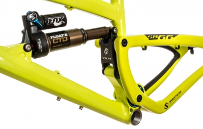 YETI 2014 Frame 26'' SB 66 Aluminium + Rear Shox FLOAT X Lime