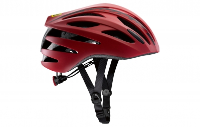 casque route mavic aksium elite 2016 rouge s 51 56 cm