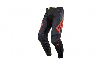 FOX Pantalon DEMO DH CAUZ Noir Orange