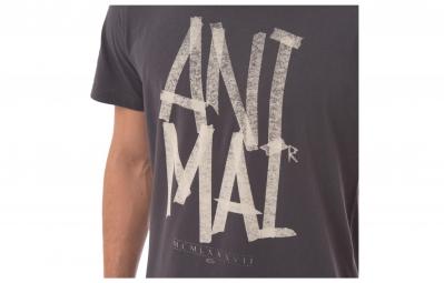 ANIMAL T-Shirt MASK Gris