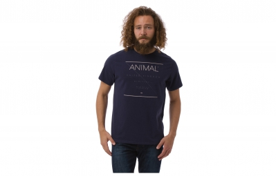 Animal t shirt coordinate bleu s