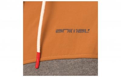 ANIMAL Sweat à Capuche WINTERCREEK Gris Orange