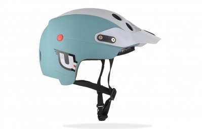 casque urge endur o matic bleu blanc l xl 57 59 cm