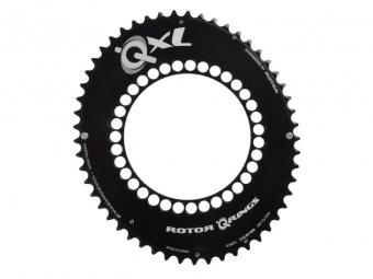 Rotor plateau route qxl exterieur 50 dents bcd 110mm noir