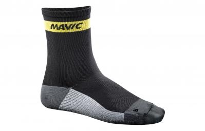 mavic 2016 paire de chaussettes ksyrium carbon noir 35 38
