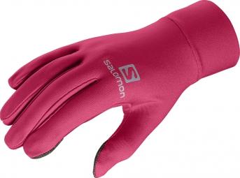 salomon gants active rose l