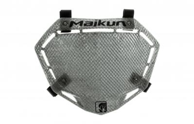 MAIKUN Plaque 3D KARBON PRO Gris Metal