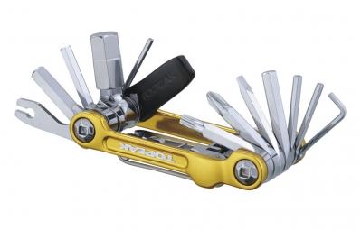 TOPEAK Multi-Outils MINI 20 PRO Or (20 outils)