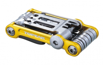 TOPEAK Multi-Outils MINI 20 PRO Or (20 outils)