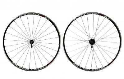 Asterion paire de roues silver sport 22 noir corps de roue libre shimano