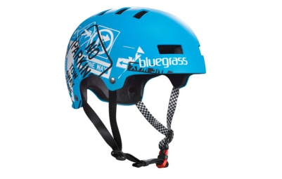 Casque bol Bluegrass SUPERBOLD Road Sign Matt Cyan