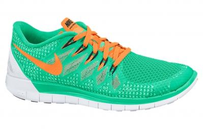 Nike free 5 0 vert orange femme 38