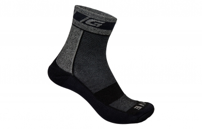 Gripgrab chaussettes winter merinos cycling socks gris noir 38 41