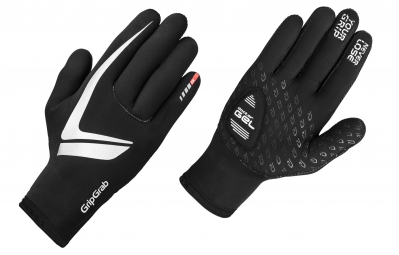 gripgrab gants neoprene noir xl