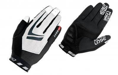 GripGrab Gants RACING Noir Blanc
