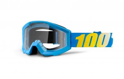 100 masque strata bleu ecran transparent adulte