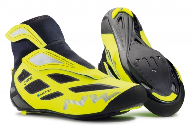 paire de chaussures northwave fahrenheit arctic 2 gtx black yellow 45