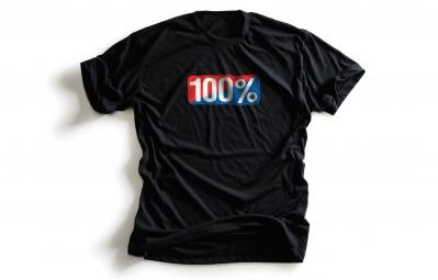 100 t shirt old school noir xl