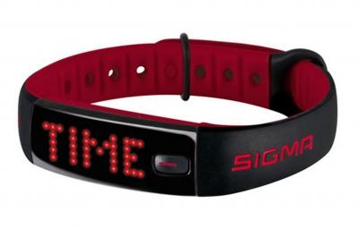 SIGMA bracelet d'activités ACTIVO noir rouge