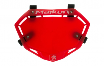 MAIKUN Plaque 3D MINI Rouge