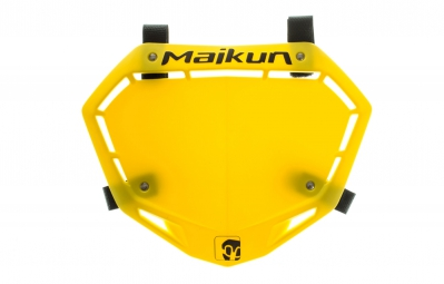 MAIKUN 3D Mini Race Plate - Yellow