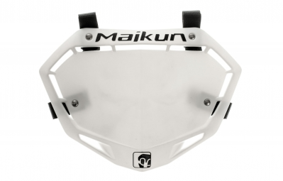 MAIKUN 3D Mini Race Plate - White