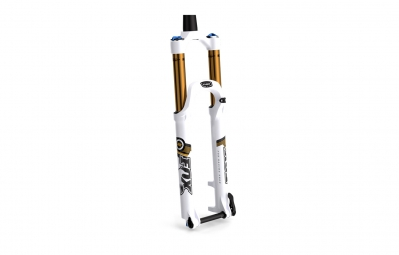 fox racing shox fourche 27 5 32 float factory ctd adj fit 15mm conique blanc 100