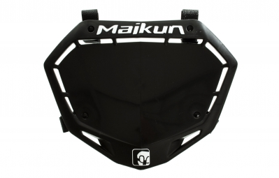 MAIKUN 3D Race Plate - Black