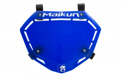 Placa De Carreras Maikun 3d   Azul
