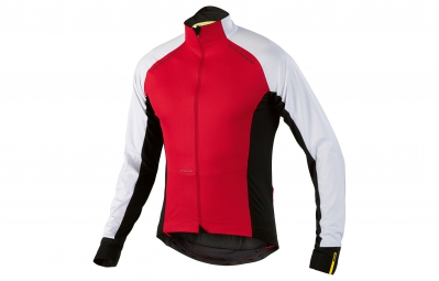 MAVIC 2016 Maillot Manches Longues Cosmic Pro Wind Rouge/Blanc