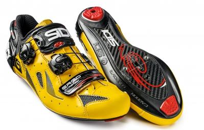 chaussures route sidi ergo 4 jaune noir 46