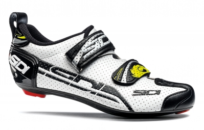 Sidi paire de chaussures triathlon t4 air blanc noir 43