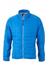 James et nicholson veste hybride molletonnee jn1116 bleu cobalt doudoune homme s