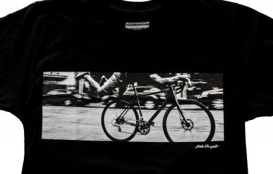 BONTRAGER T-Shirt SUPERMAN Noir