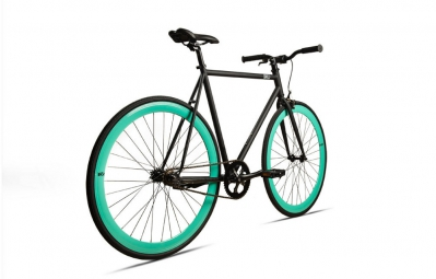 6KU Vélo Complet Fixie BEACH BUM Noir