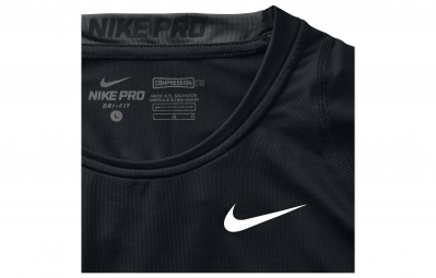 NIKE Maillot PRO COOL COMPRESSION Noir Homme