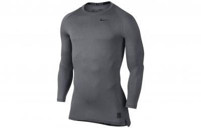 maillot de compression homme nike pro cool gris l
