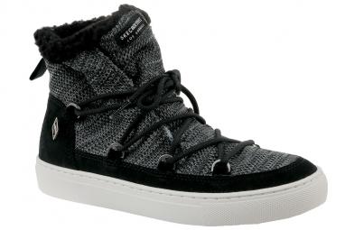 Skechers Side Street 73578-BLK Femme Boots Noir