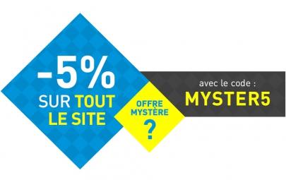 Code Promo Mystere 5%