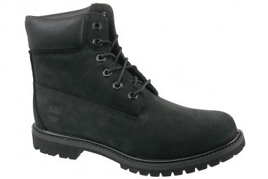 Timberland 6 Premium In Boot 8658A Femme Chaussures de randonnée Noir
