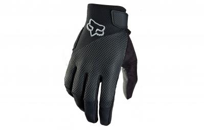 fox paire de gants femme reflex gel noir m